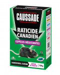 RATICIDE CANADIEN ESP. RESIST. 15 PETES = 150GR