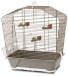 CAGE CAMILLE 30 - GRIS CHAUD