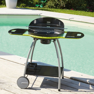 Barbecue charbon de bois ISY FONTE 3 COOK'IN GARDEN